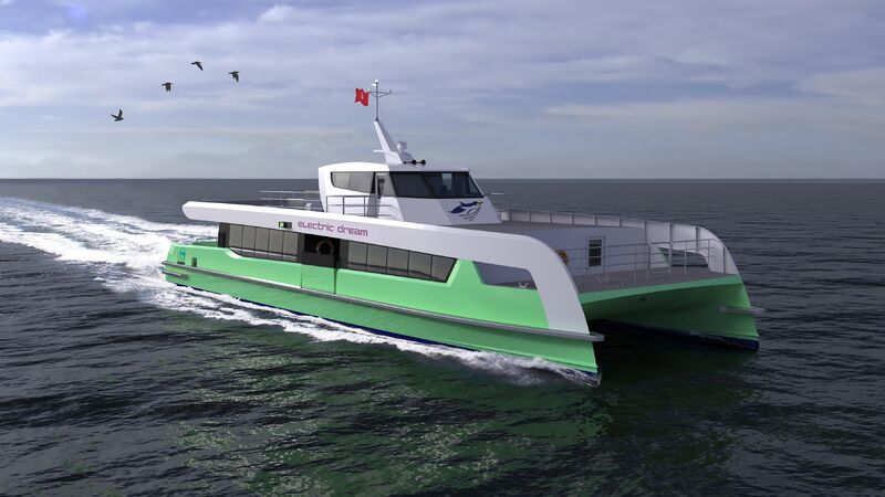 Shell Orders All-Electric Ferries For Singapore Ops