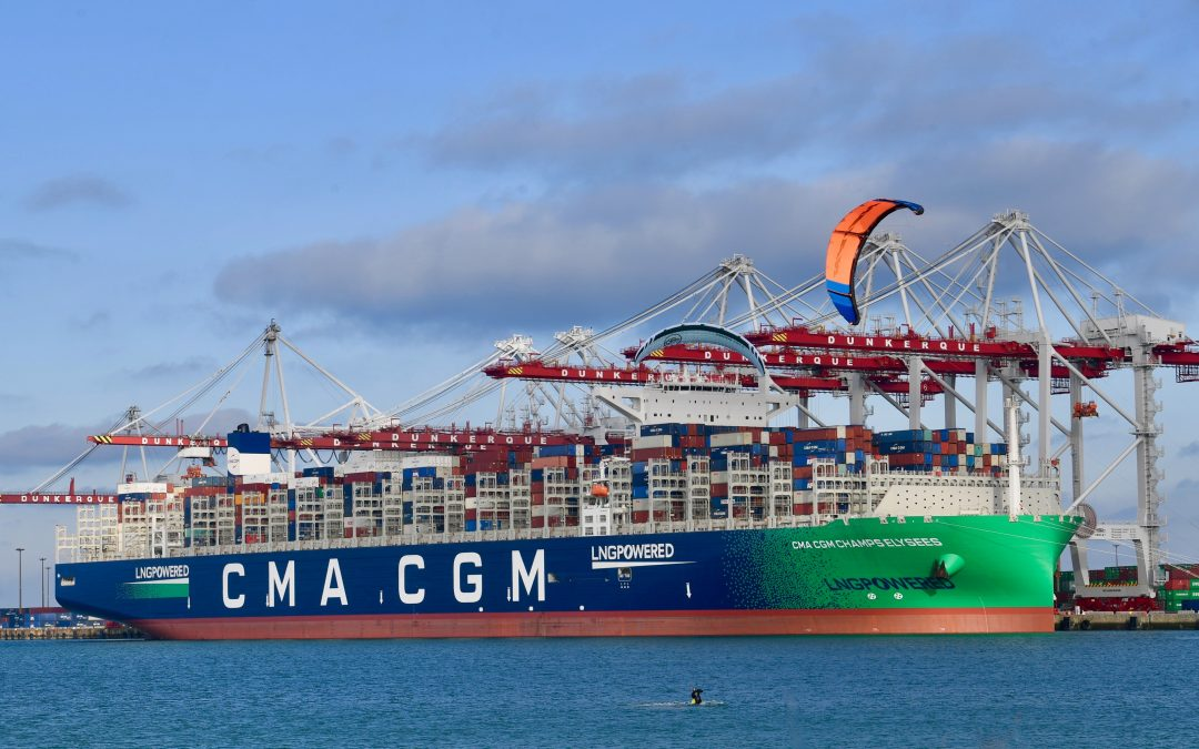 CMA CGM Adds 46 Vessels In 2021 In Decarbonisation Push