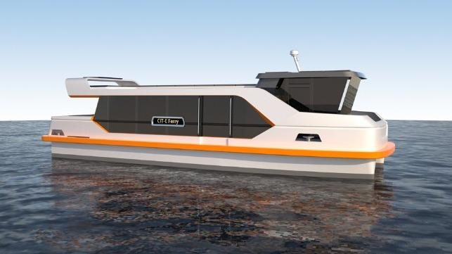 Fassmer Designs Electric Inner City Ferry