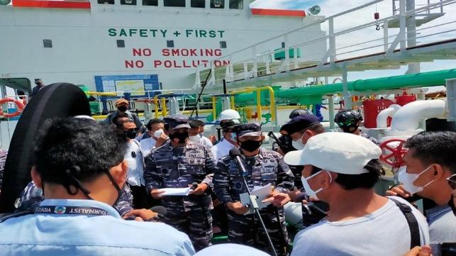 """Indonesia Detains """"Suspicious"""" Oil Tanker"""