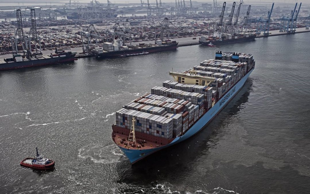 ABS To Class Maersk's Methanol-Fuelled Newbuilds