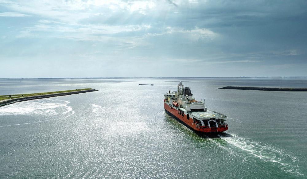 Australia's New Antarctic Research Vessel Delivered