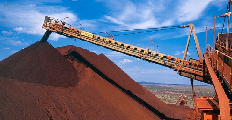 Rio Tinto Develops Blending Iron Ore Delivery Hub At Dalian Port