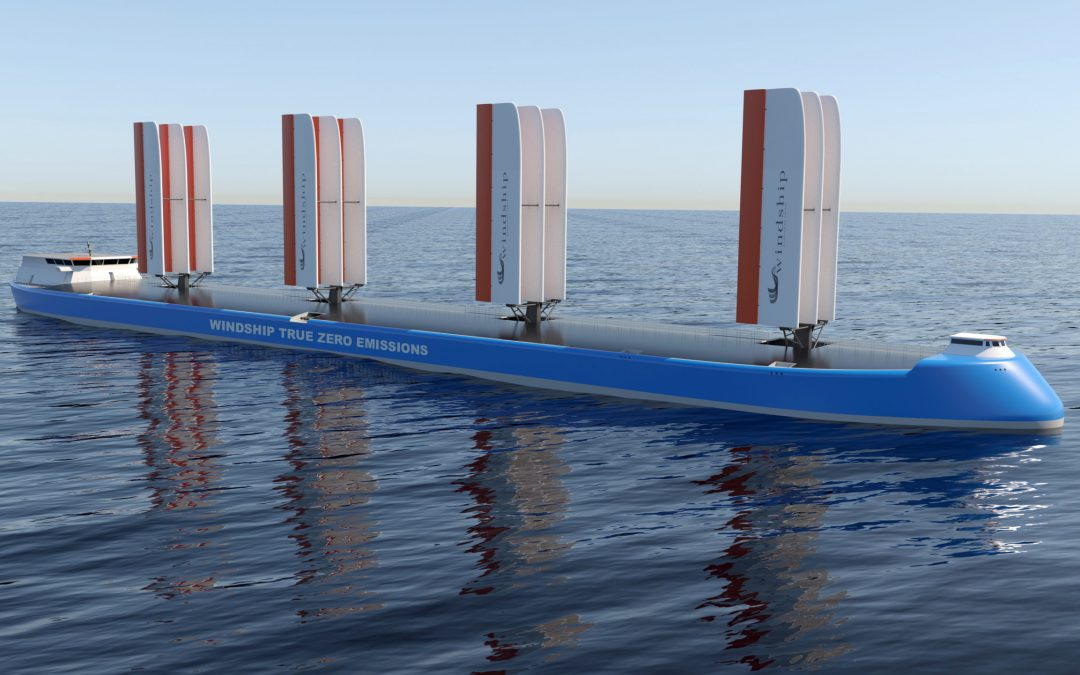 Windship Technology Secures Coveted Approval In Principle For Innovative Triple-Wing Design From DNV