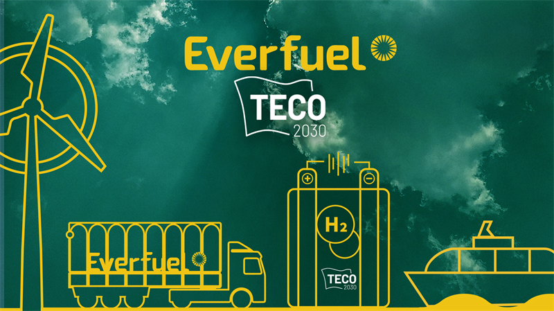 Everfuel To Supply Green Hydrogen For TECO 2030's Fuel Cells
