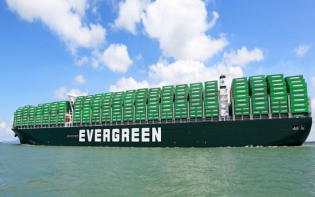 Evergreen Receives Second Vessel In Largest Boxship Series