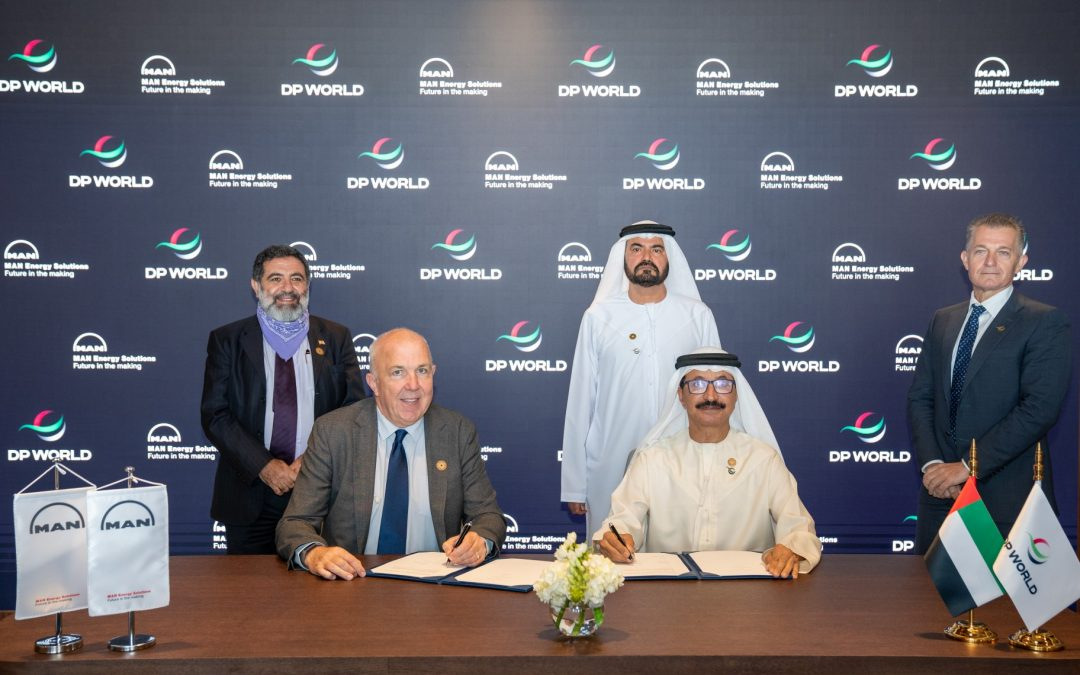 MAN Energy Solutions And DP World Sign Cooperation Agreement To Further Maritime Energy Transition