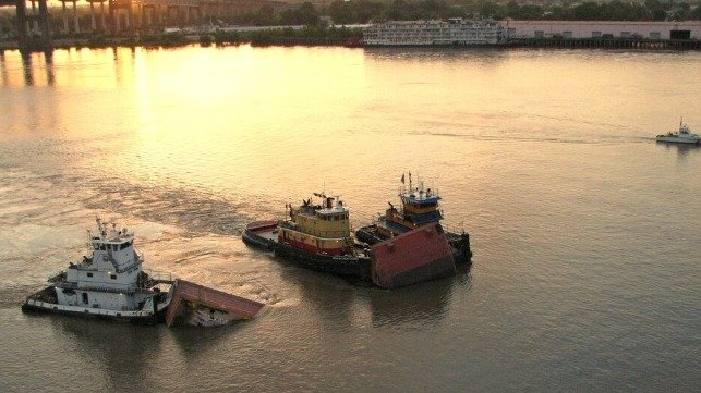 $6.5M Settlement For Oil Discharge In 2008 Mississippi River Collision