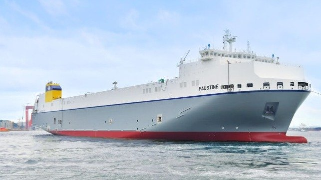 Hyundai Mipo Delivers First LNG-Fueled Ro-Ro Built In South Korea