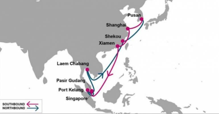 ONE Launching New Korea – China – Southeast Asia Service