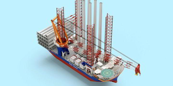 Van Oord Orders Methanol-Fuelled Wind Turbine Installation Vessel