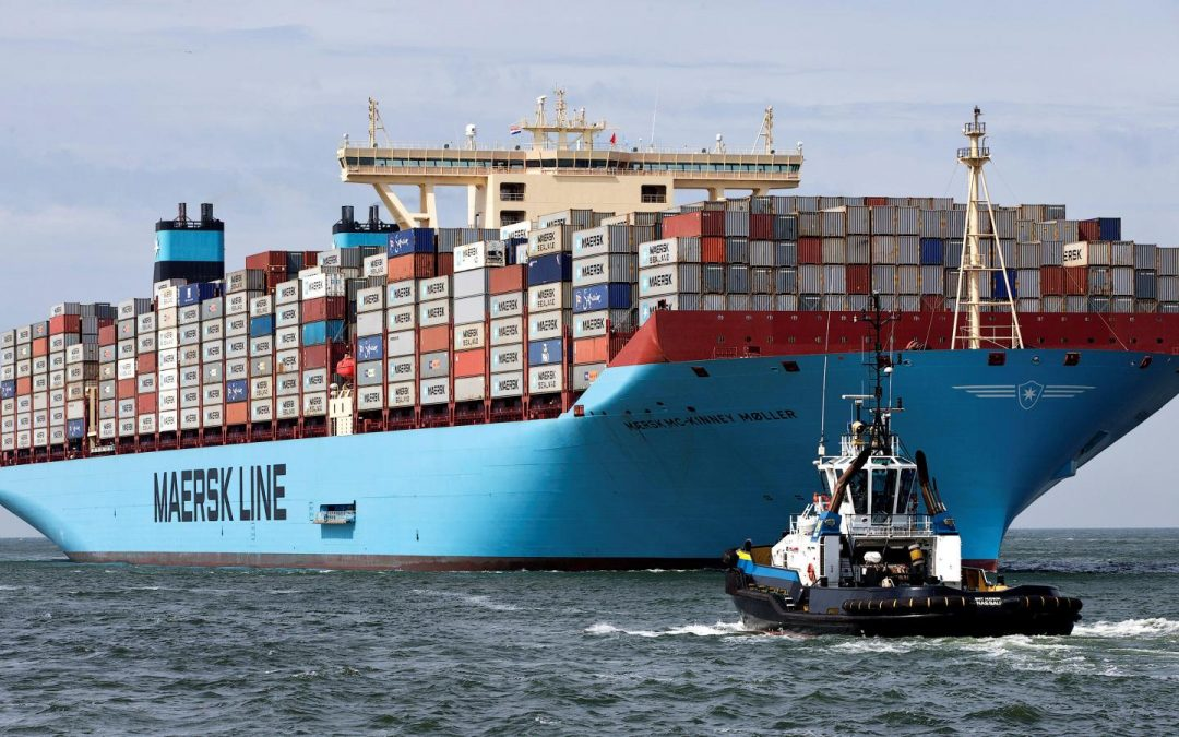 Maersk Boxship To Trial Silverstream Air Bubble System